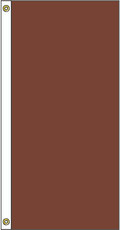 DISCONTINUED -- 5 ft x 3 ft - Golden Brown (Vertical) - Attention 'A' Flag