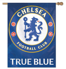 Chelsea Football Club - 27 in. x 37 in. Vertical Hanging Flag