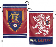 MLS Real Salt Lake - 12.5 in. x 18 in. 2 Sided Garden Flag