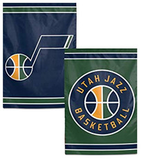 NBA Utah Jazz - 12.5 in. x 18 in. 2 Sided Garden Flag