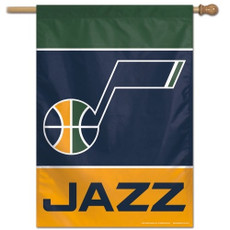 NBA Utah Jazz - 28 in. x 40 in. Vertical Hanging Flag