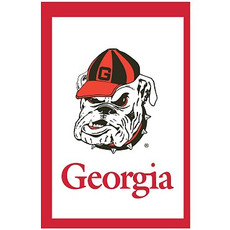 NCAA Georgia Bulldogs - 28 in. x 44 in. Vertical Hanging Applique Flag