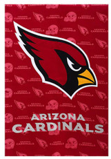 NFL Arizona Cardinals - 12.5 in. x 18 in. Suede Glitter Garden Flag