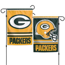 NFL Green Bay Packers - 12.5 in. x 18 in. 2 Sided Garden Flag