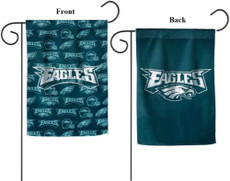 NFL Philadelphia Eagles - 12.5 in. x 18 in. Suede Glitter Garden Flag