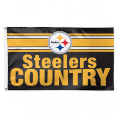 NFL Pittsburgh Steelers - 3' x 5' Deluxe Flag