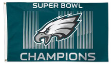 NFL Seattle Seahawks Super Bowl Champions - 3' x 5' Deluxe Flag