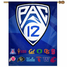 PAC 12 - 27 in. x 37 in. Vertical Hanging Banner
