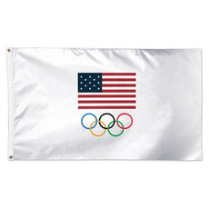 Team USA - 3' x 5' Deluxe Flag