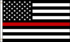 3'X5' LWP Thin Red Line