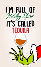 Grinch Holiday Garden Flag - Tequila