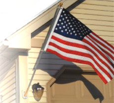 U.S. Flag Premium Pole Kit - Residential