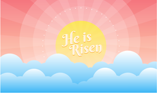 3'x5' Easter Flag - He Is Risen