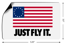JUST FLY IT. Magnets