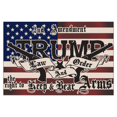 2nd Amendment Trump ATV Flag
