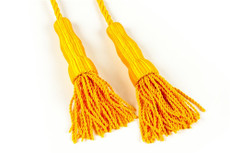 Golden Yellow Cord & Tassel