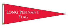 Long Pennant Attention Flag