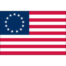 Betsy Ross Flags - 5'x8' Outdoor Nylon