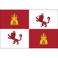 Lions and Castles Flags - 3'x5' Outdoor Nylon