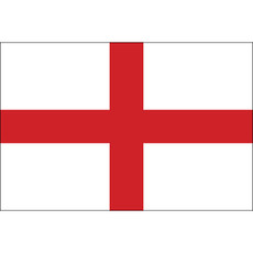 St. George Cross Flags - 3'x5' Outdoor Nylon