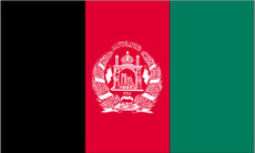 Afghanistan - 3'x5' Light Weight Polyester Flag