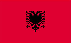 Albania - 3'x5' Light Weight Polyester Flag