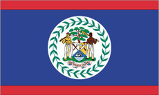 Belize - 3'x5' Light Weight Polyester Flag