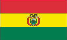 Bolivia - 3'x5' Light Weight Polyester Flag