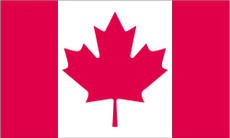 Canada - 3'x5' Light Weight Polyester Flag