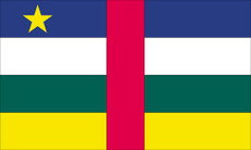 Central Africa - 3'x5' Light Weight Polyester Flag