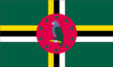 Dominica - 3'x5' Light Weight Polyester Flag