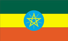 Ethiopia - 3'x5' Light Weight Polyester Flag