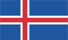 Iceland - 3'x5' Light Weight Polyester Flag