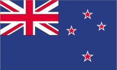 New Zealand - 3'x5' Outdoor Nylon Flag