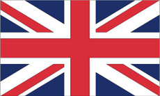 United Kingdom - 3'x5' Outdoor Nylon Flag