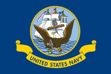 U.S. Navy Flags - 3'x5' Light Weight Polyester