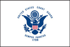U.S. Coast Guard Flags - 3'x5' Light Weight Polyester