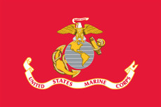 U.S. Marine Corps Flags - 3'x5' Light Weight Polyester