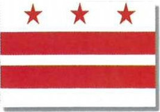 District of Columbia 3x5 Light Weight Polyester