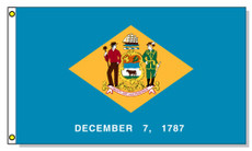 Delaware State Flags - 3'x5' Light Weight Polyester