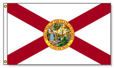 Florida State Flags - 3'x5' Light Weight Polyester
