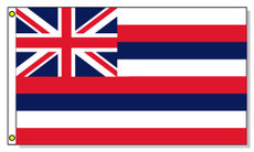 Hawaii State Flags - 3'x5' Light Weight Polyester