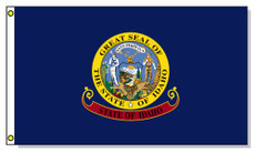 Idaho State Flags - 3'x5' Light Weight Polyester