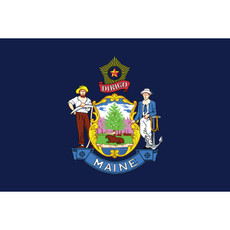Maine State Flags