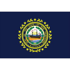 New Hampshire State Flags