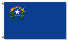 Nevada State Flags - 3'x5' Outdoor Nylon