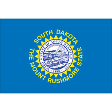 South Dakota State Flags