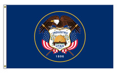 Utah State Flags - 3'x5' Outdoor Nylon