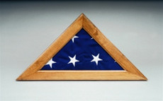 Maple Memorial Flag Case
