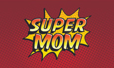 3'x5' Super Mom Flag